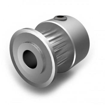 Aluminium MXL Pulley, 18T, 6mm Bore