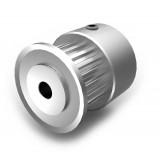 Aluminium MXL Pulley, 20T, 3mm Bore