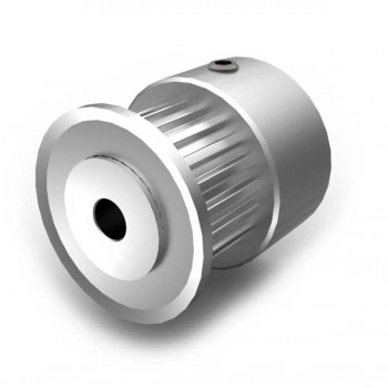 Aluminium MXL Pulley, 20T, 3mm Bore