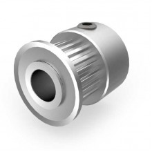 Aluminium MXL Pulley, 20T, 6mm Bore
