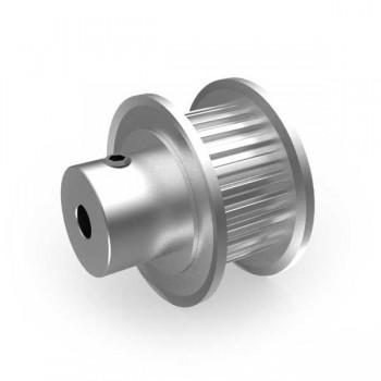 Aluminium MXL Pulley, 24T, 3mm Bore