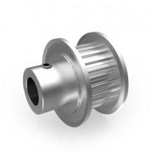 Aluminium MXL Pulley, 24T, 6mm Bore