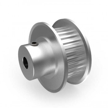 Aluminium MXL Pulley, 30T, 4mm Bore