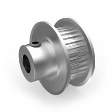 Aluminium MXL Pulley, 30T, 6mm Bore