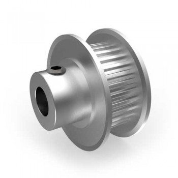 Aluminium MXL Pulley, 30T, 6mm Bore