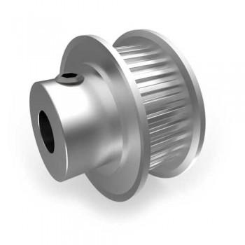 Aluminium MXL Pulley, 32T, 6mm Bore
