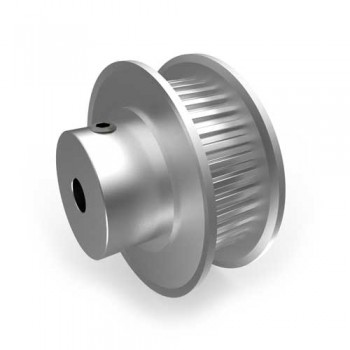 Aluminium MXL Pulley, 36T, 4mm Bore