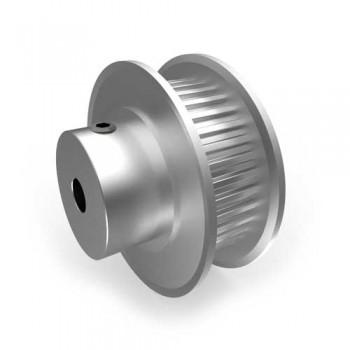 Aluminium MXL Pulley, 36T, 4mm Bore