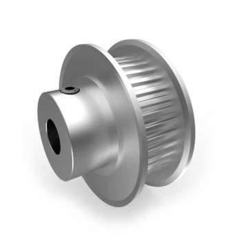 Aluminium MXL Pulley, 36T, 6mm Bore