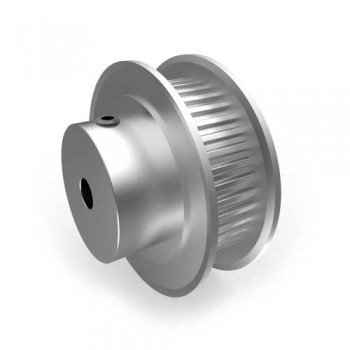 Aluminium MXL Pulley, 40T, 4mm Bore