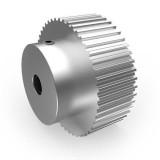 Aluminium MXL Pulley, 48T, 5mm Bore