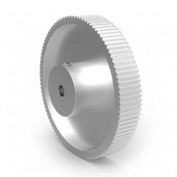 Aluminium MXL Pulley, 100T, 5mm Bore
