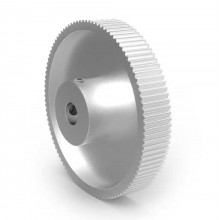 Aluminium MXL Pulley, 100T, 8mm Bore