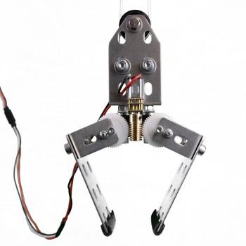 Remote Control Crane Assembled
