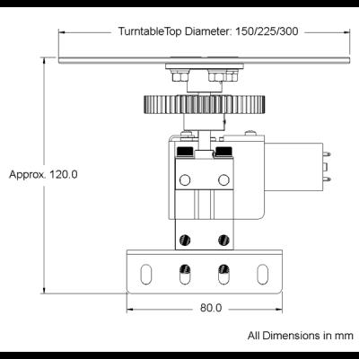 Turntable Kit