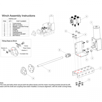 Motorized Winch Kit