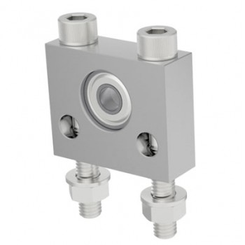 Pillow Block with 4mm Bore Ball Bearing