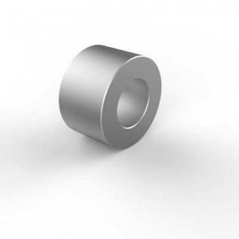 Spacer 5.2d x 10D x 6W Aluminium. Pack of 6.