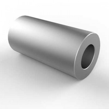 Spacer 5.2d x 10D x 20W Aluminium. Pack of 2.