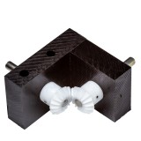 Bevel Gearbox, 1:1 ratio, plastic gears