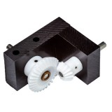 Bevel Gearbox, 2:1 ratio, plastic gears