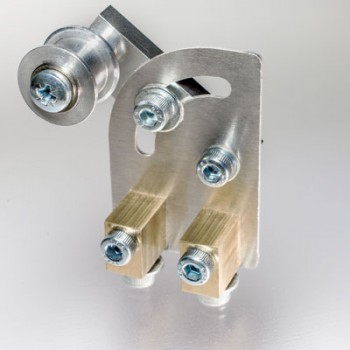Idler Pulley with Adjustable Mounting Bracket