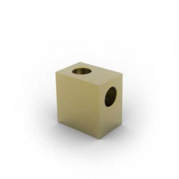 Brass Elbow Block