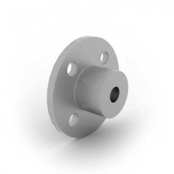 Flanged Turntable Hub with 6mm Bore