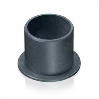 Plain Polymer Flange Bearing, 10mm Bore, 12mm O/D