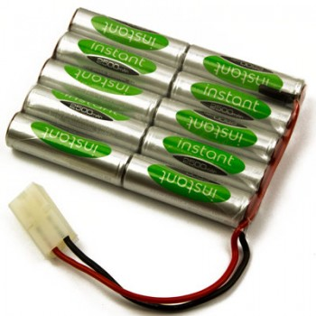 12V Rechargeable Battery Pack, Ni-MH, 2500mAh