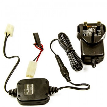 Battery Charger for 4.8v to 12v Ni-MH Packs.