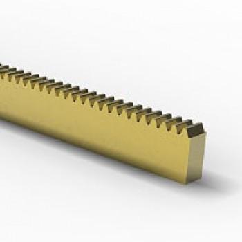 Rack, 0.8 Mod,Brass, Length 300mm