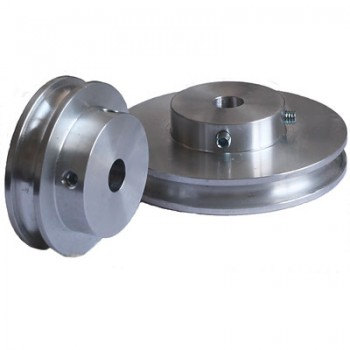 Grooved Pulley, 60mm dia, for 6mm Round Belt