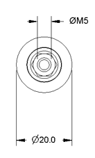 Idler Pulley Drawing Front