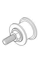 Idler Pulley Drawing Model