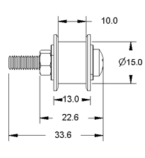 Idler Pulley Drawing Side