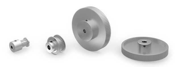 MXL plastic pulley