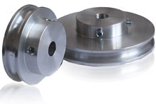 Grooved Round Belt Pulley